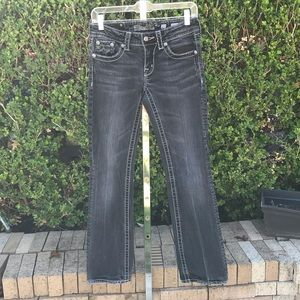 Miss Me Black Boot Cut Jeans Size 27